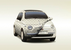 Indoor car cover for Fiat 500