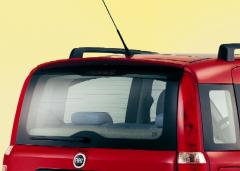 Roof rear spoiler for Fiat Panda