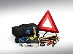 Roadside safety kit with mopar logo
