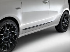 Side bumper guards for Lancia Ypsilon