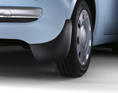 Rear mudflaps mud guards for Fiat 500