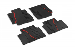 Rubber Carpet Mats For Rwd Version Right Hand Drive