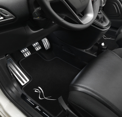 Ambient light kit for door panels for Lancia Ypsilon