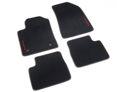 Carpet mats with red logo RHD - MT