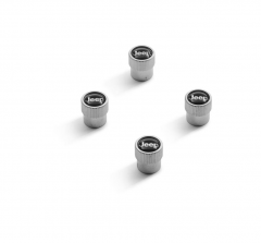 Tyre valve stem caps with Jeep logo for Jeep Grand Cherokee