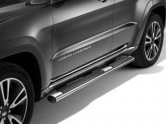 Chrome walkways side sills under the door for Jeep Grand Cherokee