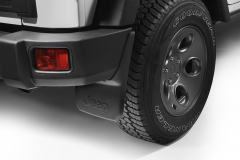 Moulded mudflaps rear pair