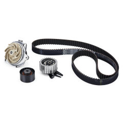 Timing belt kit (belt and tensioners) with water pump
