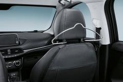 Coat hanger hanger and headrest hanger