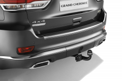 Removable tow hook for Jeep Grand Cherokee