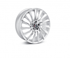 Kit 4 Wheels, 18'' Colour Diamond-Cut Opaque White