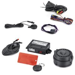 Volumetric anti-theft alarm system for Fiat 500