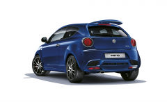 Rear bumper spoiler for Alfa Romeo MiTo