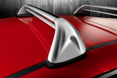 Aluminium roof bars for car for Alfa Romeo Mito