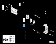 Front Disc Brake Pad (Set of 4)