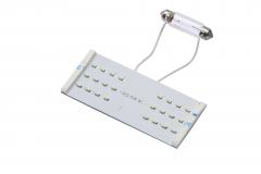 LED light bulbs kit for rectangular ceiling light