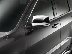 Chrome mirror caps for Jeep Grand Cherokee