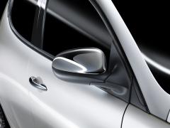 Chrome mirror covers for Lancia Ypsilon