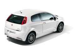Volumetric anti-theft alarm system for Fiat