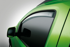 Front anti-turbulence wind deflectors for Fiat and Fiat Professional