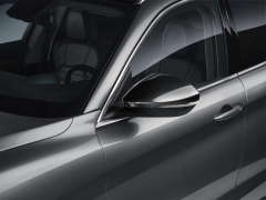 Glossy miron mirror covers for Alfa Romeo Stelvio