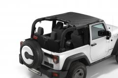 Sunbonnet for soft top 2 door version