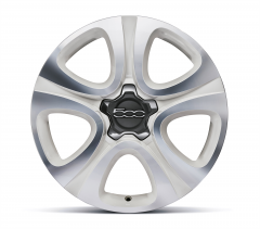 18'' Alloy Wheels Kit In Bright White Diamond Cut