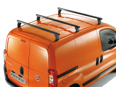 Steel roof carrier bars