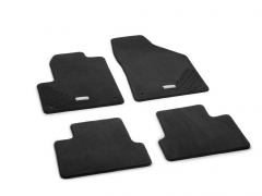 Premium carpet floor mats