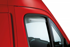Anti-turbulence deflectors for Fiat Professional Ducato