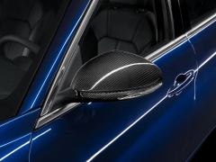 Carbon fibre mirror covers for Alfa Romeo Giulia