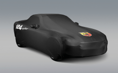 Indoor car cover for Abarth 124 spider
