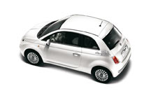 City of Rome stickers for Fiat 500