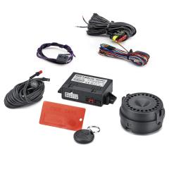Volumetric anti-theft alarm system for Lancia Ypsilon