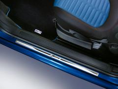 Steel door sills kick plates 5 door models for Fiat