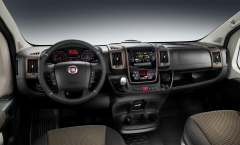 Lounge trim level kit equipped with radio for Fiat Professional Ducato