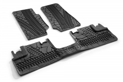 Rubber mats for Jeep Wrangler