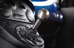 Gear knob in carbon fibre