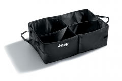 Luggage compartment container for Jeep