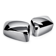 Chrome mirror caps