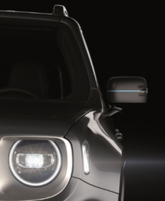 MIRROR COVERS DECALS FOR JEEP RENEGADE 4xe