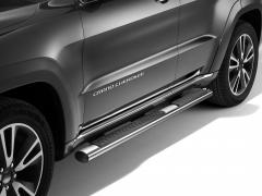 Chrome walkways side sills under the door for Jeep Grand Cherokee