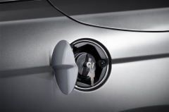 Locking petrol filler cap for Lancia Flavia