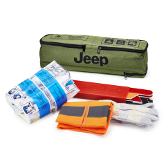 First Aid Kit with Triangle for Jeep