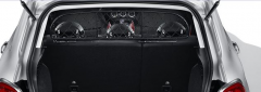 Dog separation grille dividing net for Fiat 500X
