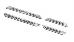 Door sill entry guards set for Fiat 500X