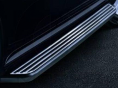Black sidestards side footboards for Jeep Grand Cherokee