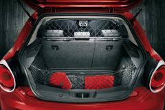 Separation grille dog guard for luggage compartment for Alfa Romeo Mito