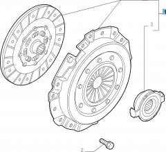Clutch kit (clutch disc, pressure plate and release bearing)