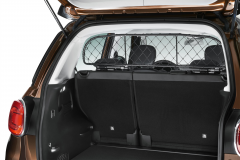 Dog partition net for wagon/living